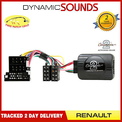 Steering Wheel Stalk Control Interface Adaptor Lead For RENAULT Scenic,Laguna