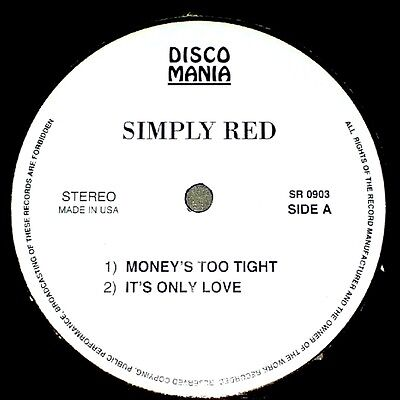 """12"""" - Simply Red - Money's Too Tight To Mention (RARE E.P. 4 TRACKS) NEW LISTEN"""