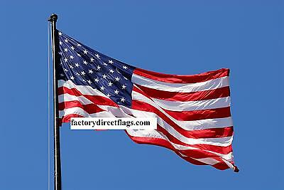 3X5 American Flag Us Flag Embroidered 50 Star Flag Top Quality Free Shipping