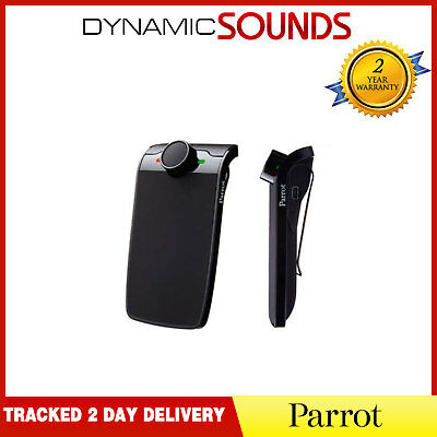 Parrot Minikit + Bluetooth Hands Free Car Kit for iPhone, Smart Phones Mobile