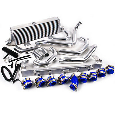FRONT MOUNT INTERCOOLER KIT FOR GDA SUBARU IMPREZA 2001 - 2006 WRX STi BUG EYE