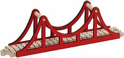 New SUSPENSION BRIDGE Wooden TRAIN TOY Fits Brio Thomas