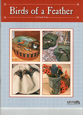 "Cindy Kanis ""Birds Of A Feather"""" Paint Book - New!"