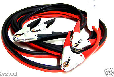 20 FT 2 Gauge Booster Cables Jumping Cable Battery Engine Jump start H D