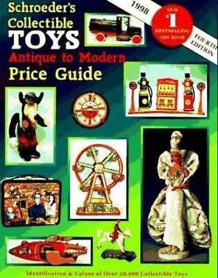 Schroeder's Collectible Toys Antique to Modern Price Guide 1997 Paperback Book