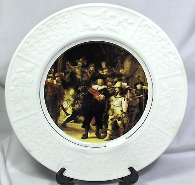 """WOOD & SONS """"THE NIGHTWATCH"""" BY REMBRANDT PLATE"""