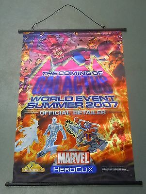 Marvel Heroclix Coming of Galactus World Event 2007 Banner NEW