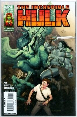 Incredible Hulk #604 Df Dynamic Forces Signed Greg Pak Coa #6 Marvel Comics