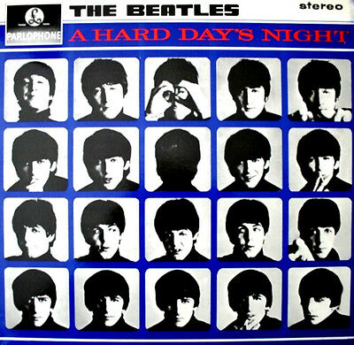 LP - The Beatles - A Hard Day's Night (VINYL LP MADE IN UK PCS 3058 NEAR MINT)