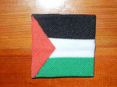 Plain Cloth Palestine Flag Elastic Bracelet Sweat Wristband