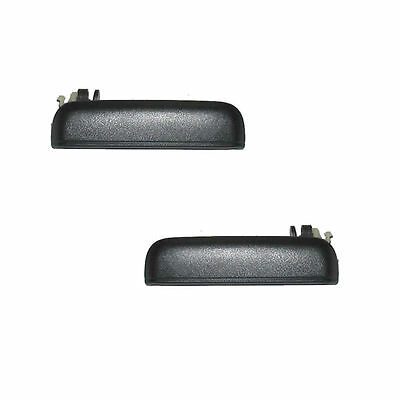 Fits 95-98 Toyota Tercel Outer Outside Door Handle - Front PAIR