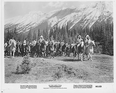 BANFF NATIONAL PARK ALBERTA CANADA b/w JAY SILVERHEELS original movie photo