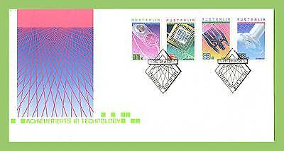 Australia 1987 Achievements in Technology set First Day Cover, Melbourne