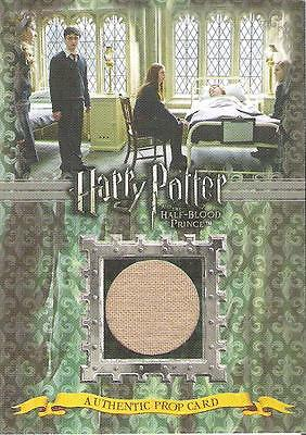 HARRY POTTER HALF BLOOD PRINCE RONS HOSPITAL BED SHEETS P3 PROP CARD 090/190