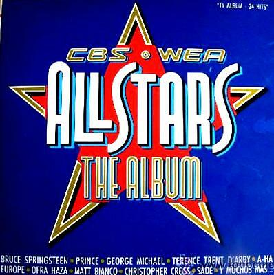 LPx2 - CBS * WEA All Stars (Compilation: Bruce Springsteen,A-ha,Europe,Prince..