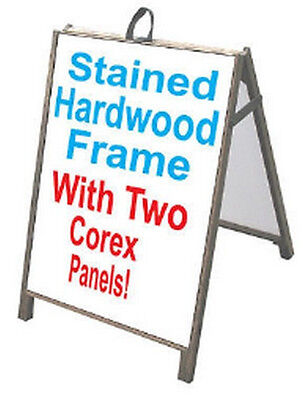 A FRAME SIDEWALK Signs Changeable Letters Message Outdoor Sign ...