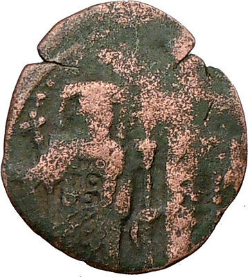 ANDRONICUS II Palaeologus & Michael IX 1294AD  Ancient Byzantine Coin i20346
