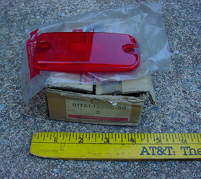 70s TOYOTA new rear SIDE MARKER LIGHT LENS CORONA maybe