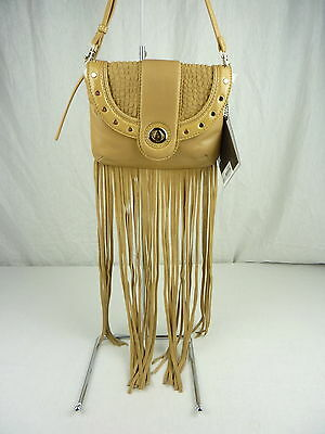 Mimco Womens Talitha Couch Clutch Bag/ Handbag in Camel BNWT- rrp$249