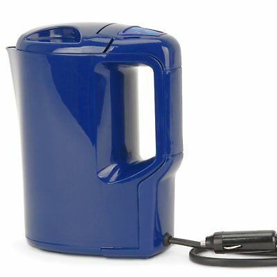12 volt car Kettle 12v hot water for camping travel van camping cigarette lead