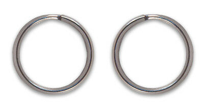 20 - Country Brook Design® 3/4 Inch Split Ring Key Chain Rings