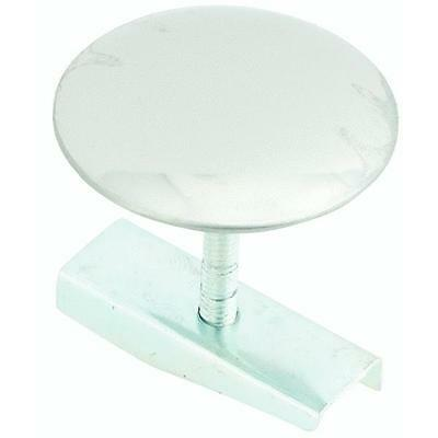 """Brushed Stainless Steel 1-3/4"""" Faucet Sink Hole Cover With Screw And Wing Nut"""