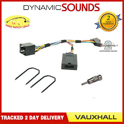 Car Stereo Steering Control Aerial Fitting Kit For Vauxhall Astra G (1998-2004)