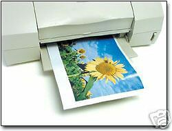 25 Sheets Glossy Printable Magnetic Magnet Photo Paper