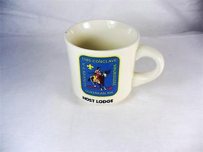 Order of the Arrow 1985 3-A Conclave Host Lodge Mug