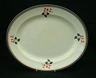 Burleigh Ware art deco medium platter