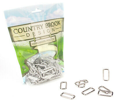 50 - Country Brook Design® 1 Inch Lite Welded Rectangle Rings
