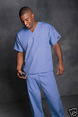 Cherokee scrubs Unisex scrub set 25 colors XS-3XL NEW! Free Shipping! top & pant
