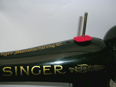 Vintage Singer Sewing Machine Cotton Reel Spool Pin 99K/66K/15K/201K/128K/127K
