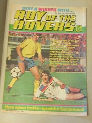 Roy Of The Rovers Comic 27Th June 1981 Andy Ritchie Of Brighton & Hove Albion