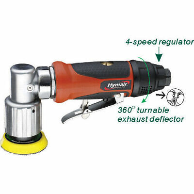 Rdgtools 2'' Diameter Air Angle Sander With Velcro Backing Pad