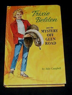 Trixie Belden #5 The Mystery Off Glen Road Julie Campbell Hardcover