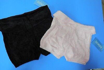 NWT HARMONIE SHORTS Foldover soft  child adult Sp2000 Black pink Ballet coverup