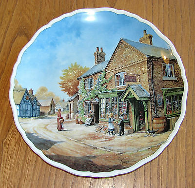 Royal Doulton Decorative Village Life Plate - PENNY WISE