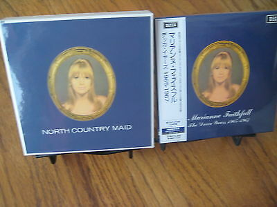 MARIANNE FAITHFUL JAPAN Replica TO THE ORIGINAL LP IN A LIMITED RARE 4 CD BOXSET