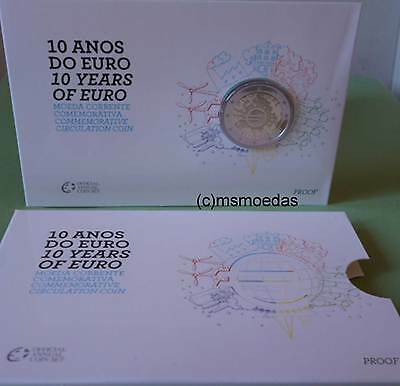Portugal 2 Euro Gedenkmünze 2012 Euro-Bargeld Coin Set Blister Official Proof PP