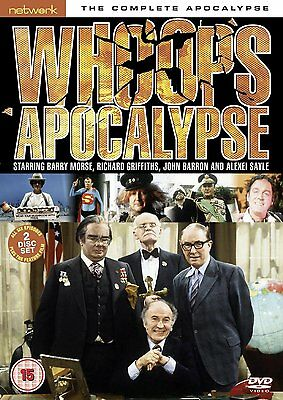 Whoops Apocalypse: The Complete Apocalypse NEW & SEALED DVD - Barry Morse