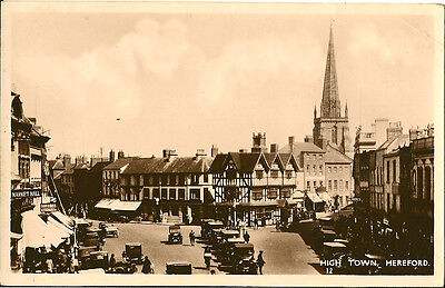 HEREFORD ( herefordshire) : High Town RP
