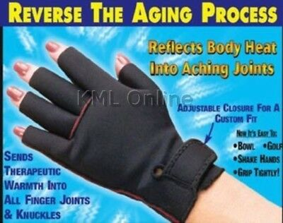 NEW Therapy Arthritis Compression Pain Relief Gloves Pair Carpal Tunnel