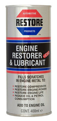 RESTORE BMW, DUCATI, YAMAHA, ROYAL ENFIELD MOTORBIKE ENGINES w 400ml AMETECH OIL