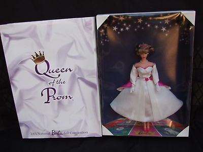 Queen of the Prom Barbie Convention Doll Limited Edition  2001 NRFB MIB