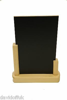 Chalk Board - Table Top - Blackboard - Menu  Pub - Restaurant - Bar A4 Size