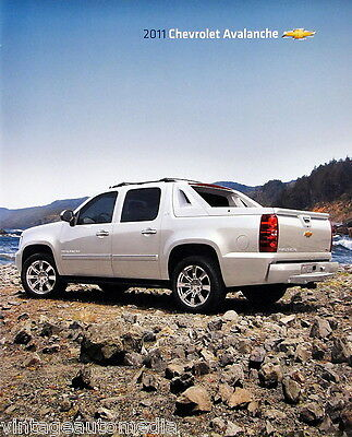 2011 Chevrolet Avalanche pickup truck new vehicle brochure