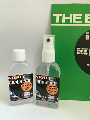 RECORD CLEANER  INTO THE GROOVE  2 x 50ml NEW Sample Size  Vinyl Cleaning fluid