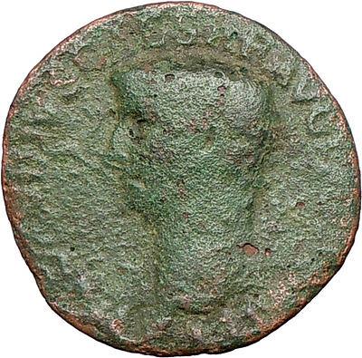 CLAUDIUS 50AD Libertas Liberty Large  Ancient Roman Coin Rome i27356