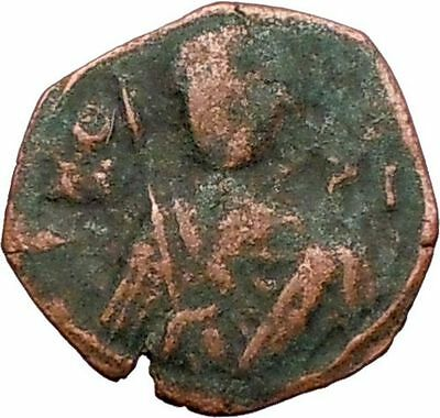 Manuel I Comnenus 1143AD Ancient  BYZANTINE Coin St George  i27567